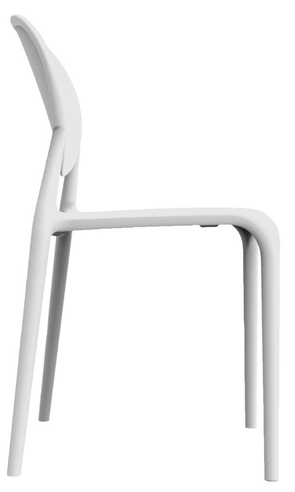 Kit 2 Cadeiras Slick branco