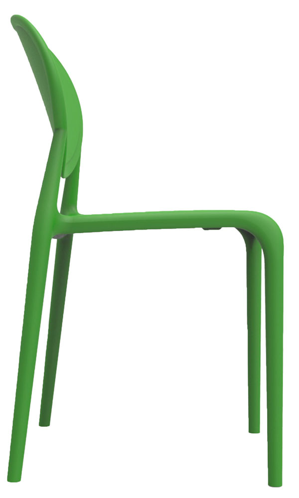 Kit 2 Cadeiras Slick verde