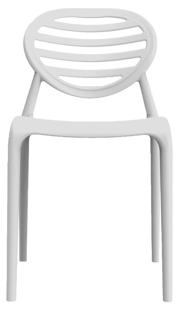 Kit 2 Cadeiras Stripe branco