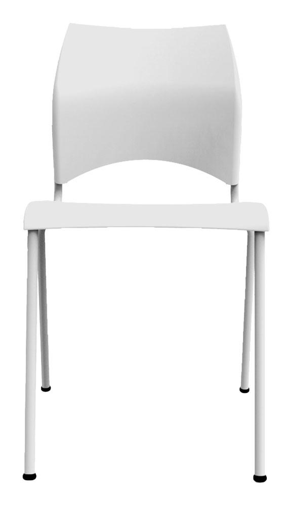 Kit 4 Cadeiras Paladio branco