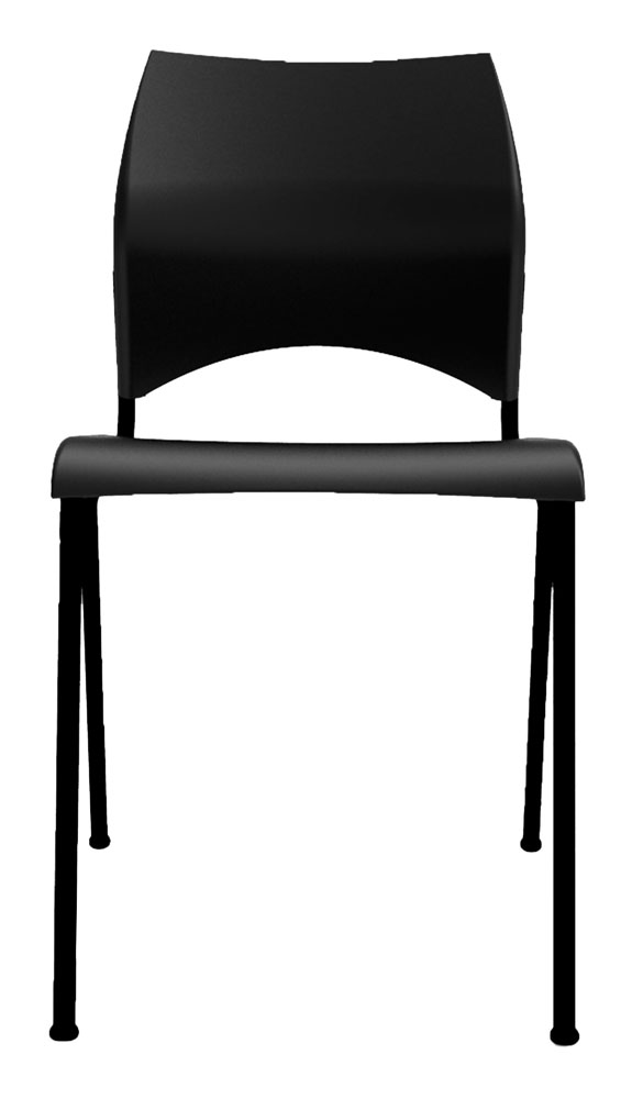 Kit 4 Cadeiras Paladio preto