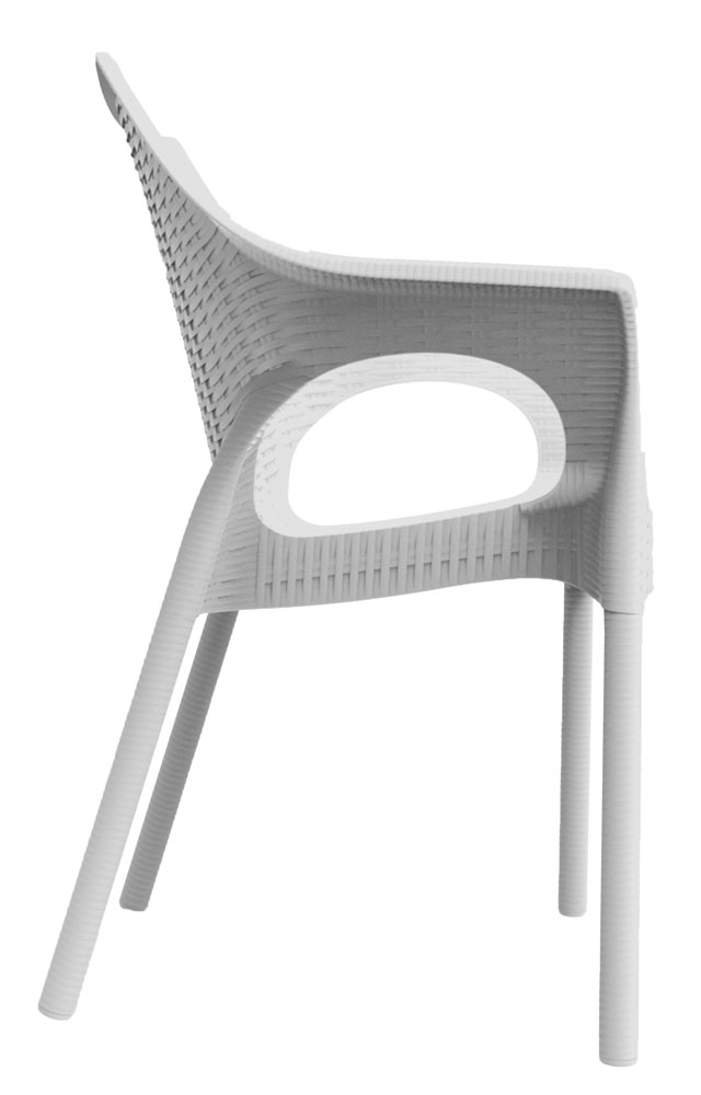Kit 4 Cadeiras Relic branco