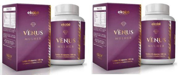 Estimulante Sexual Feminino Vênus Mulher Original 810mg - 2 Potes