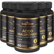 Ácido Hialurônico Haplex®Plus - 500mg - 05 Potes