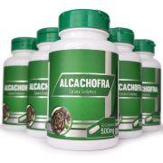 Emagrecedor Alcachofra Original 500mg - 05 Potes
