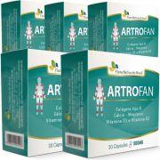 Artrofan - Original - 500mg - 05 Caixas (150 cápsulas)