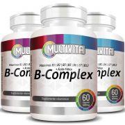 B-Complex (Complexo B)  500mg - 03 Potes