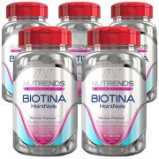 Biotina 450mg - Original - 5 Potes