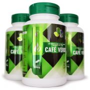 Emagrecedor Café Verde Green Coffee 500mg - 03 Potes