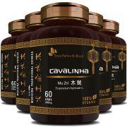 Cavalinha Original Mu Zei - 100% Vegano - 300mg - 05 Potes