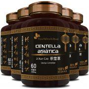Centella Asiática (Herba Centellae) 350mg - 05 Potes