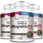 Cloreto de Magnésio PA - 500mg - 03 Potes