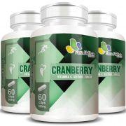 Cranberry + Vitamina C, Selênio e Zinco - 500mg - 3 Potes