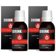 DrinkOff Original - 02 Frascos
