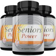 Estimulante Sexual Seniors Power Original 1000mg - 3 Potes