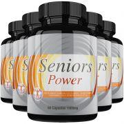 Estimulante Sexual Seniors Power Original 1000mg - 5 Potes