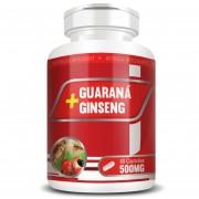 Guaraná + Ginseng 500mg - 60 cápsulas