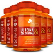 Luteína e Zeaxantina - 500mg - 05 Potes (300 cápsulas)