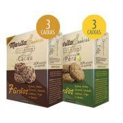 Marita Cookies Premium - Original -  Misto: Cacau | Pêra - (06 Caixas)