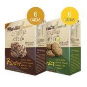 Marita Cookies Premium - Original -  Misto: Cacau | Pêra - (12 Caixas)