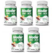 Moder Diet Maxx - Emagrecedor | Original | 500mg - 05 Potes