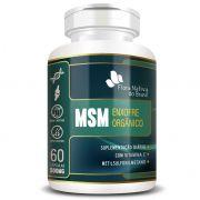 MSM - Enxofre Orgânico - 60 cápsulas de 500mg