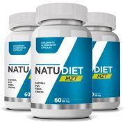 Natu Diet MZT - Original - Emagrecedor Seca Barriga - 3 Potes