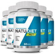 Natu Diet MZT - Original - Emagrecedor Seca Barriga - 5 Potes