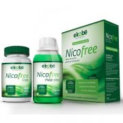 Nicofree Original - Tratamento Parar de Fumar | Capsulas + Enxaguante Bucal