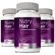 Vitamina para Cabelo - Nutry Hair - 03 Potes (Original)