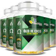 Óleo de Coco Extra Virgem - 1000mg - 05 Potes