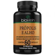 Própolis e Alho + Óleo de Girassol - 60 cápsulas de 400mg (Aumentar Imunidade)