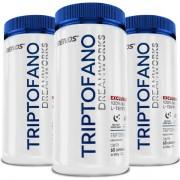 Triptofano - L-Tryptophan 190mg - 60 cápsulas - 3 Potes