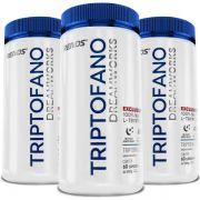 Triptofano L-Tryptophan Original 500mg - 3 Potes