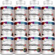 Vitamina A em Cápsulas de 500mg - 12 Potes