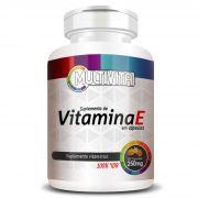 Vitamina E - 60 Cápsulas de 250mg