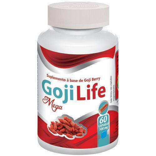 Goji Life - Emagrecedor - Original   500mg - 01 pote  - LA Nature