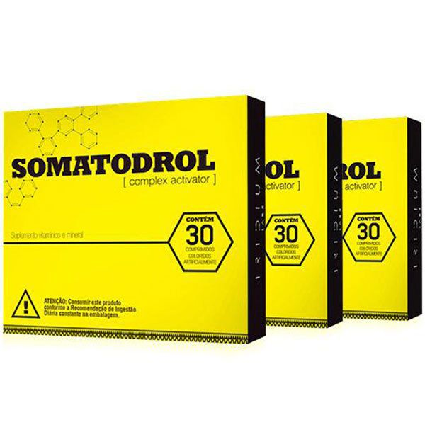 Somatodrol - Original | Kit 3 Caixas - 10% de Desconto  - LA Nature