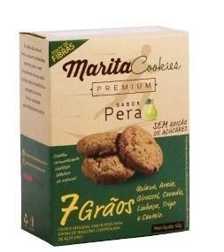 Marita Cookies Premium - 40g - Cacau Ou Perâ - (12 Caixas)  - LA Nature