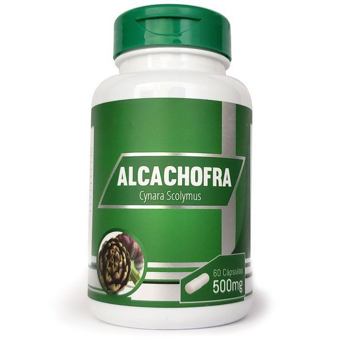 Emagrecedor Alcachofra Original 500mg - 01 Pote  - LA Nature