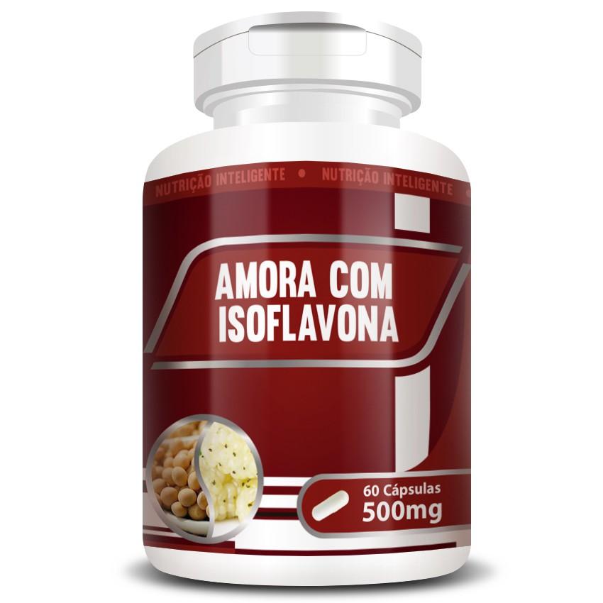Amora com Isoflavona Original 500mg - 1 Pote (60 cápsulas)