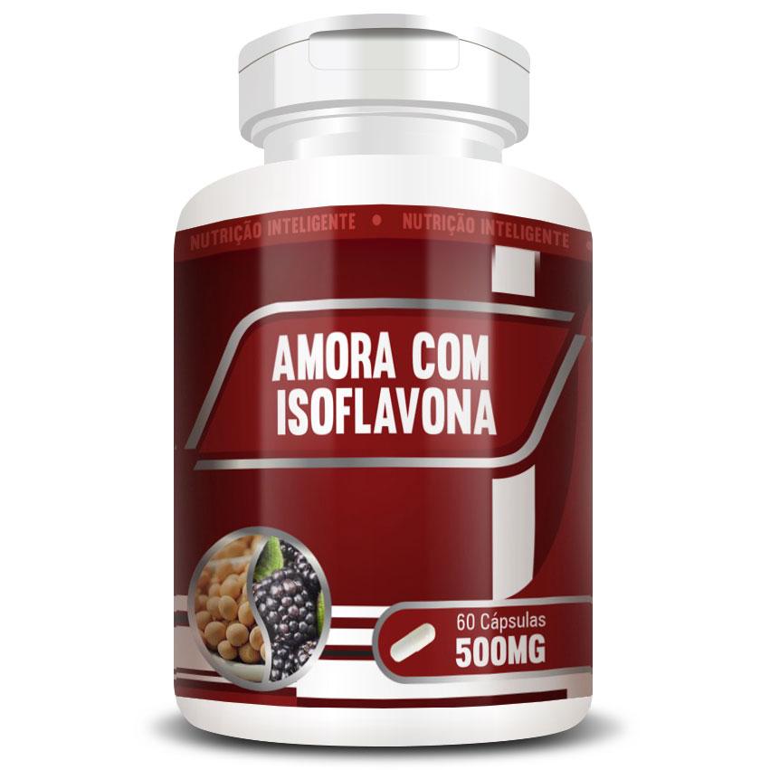 Amora com Isoflavona 500mg - 60 cápsulas
