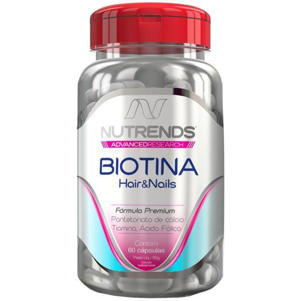 Biotina 450mg - Original - 60 cápsulas  - LA Nature