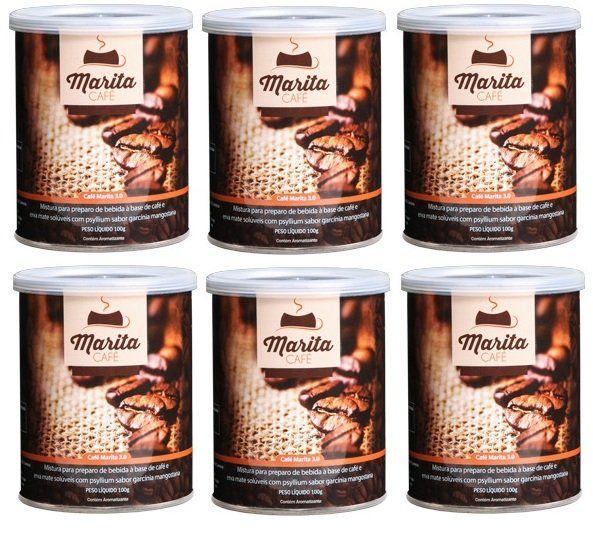 Café Marita 3.0 - Original - Super Combo 6 Latas  - LA Nature