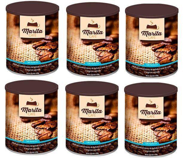 Café Marita 6.0 - Original - Super Combo - 06 Latas  - LA Nature