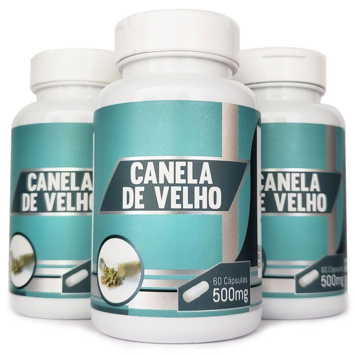 Canela de Velho - Original - 500mg - 03 Potes  - LA Nature