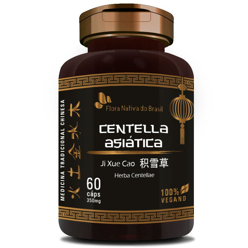 Centella Asiática (Herba Centellae) - 60 cápsulas de 350mg  - LA Nature