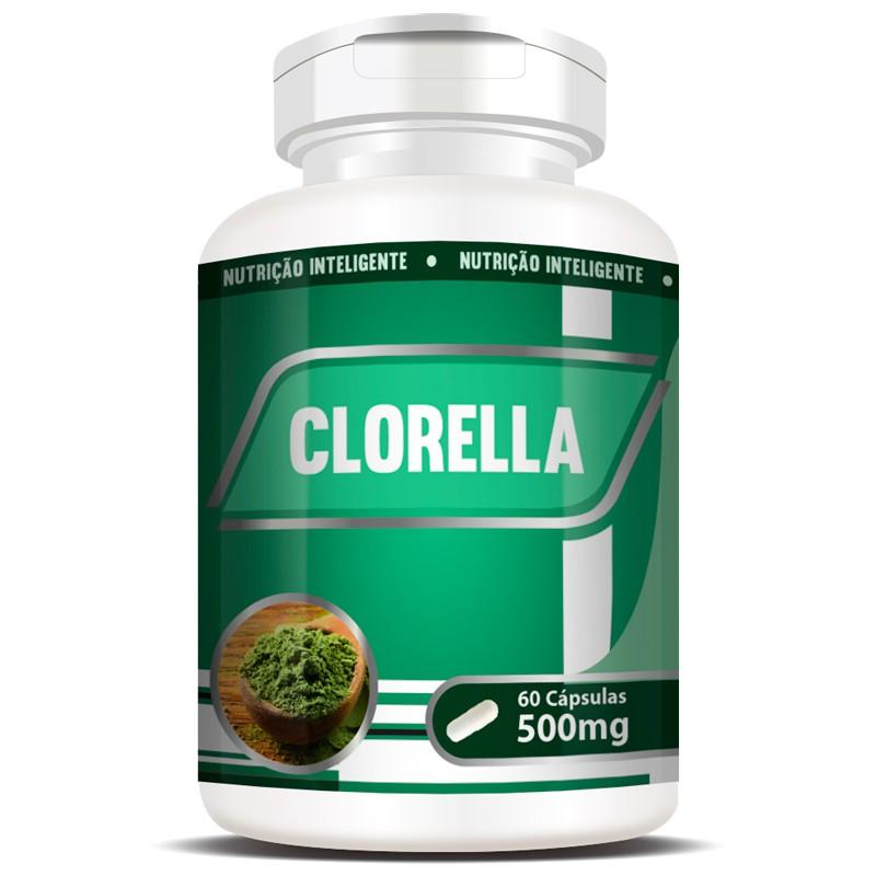 Clorela Original (Clorella) 500mg - 1 Pote com 60 cápsulas   - LA Nature