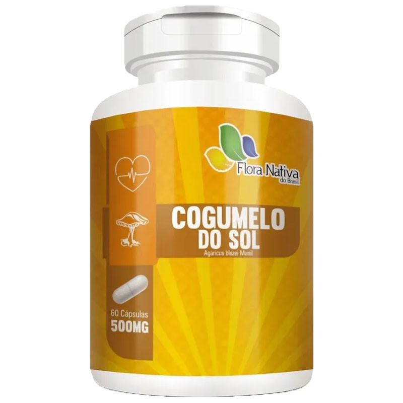 Cogumelo do Sol 500mg - 60 cápsulas