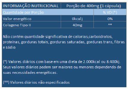 Colágeno Tipo 2 - UC II - Original - 400mg - 5 Caixas (300 cáps.)  - LA Nature